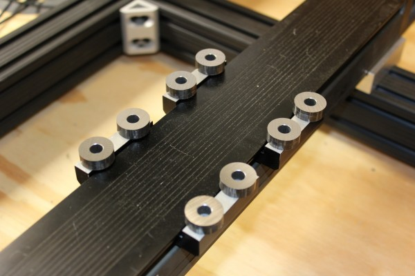 Neo7CNC KR33 CNC Machine v2 table spacers