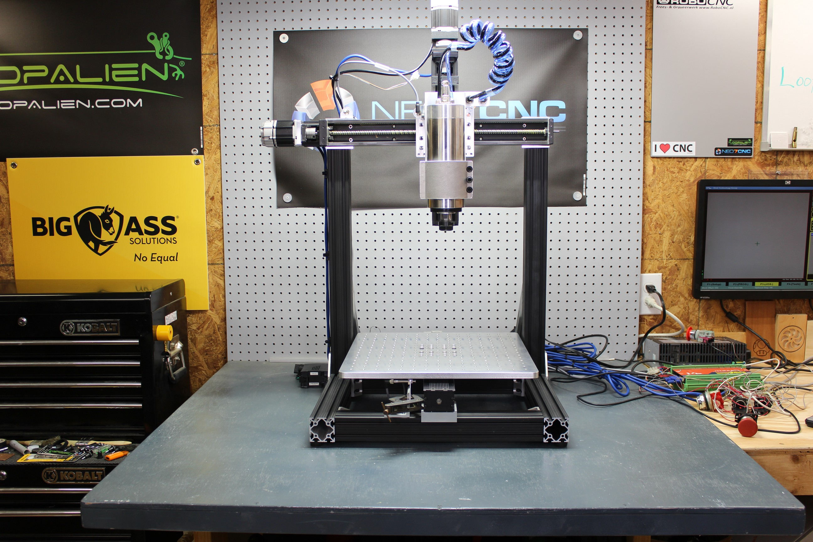 KR33CNCv2 diy cnc machine