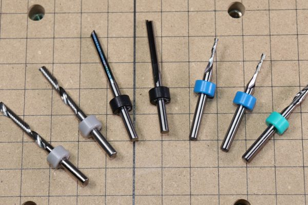 X-Carve Carving Bit Starter Set - Detail