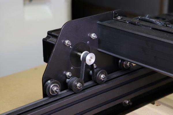 X-Carve X Axis Stepper Belt Drive Detail