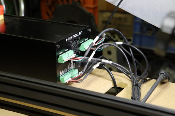 X-Carve X-Controller Rear