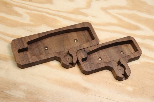 Holders in Black Walnut