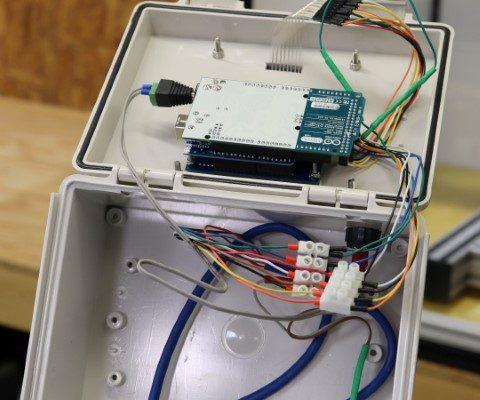 Control Box Open