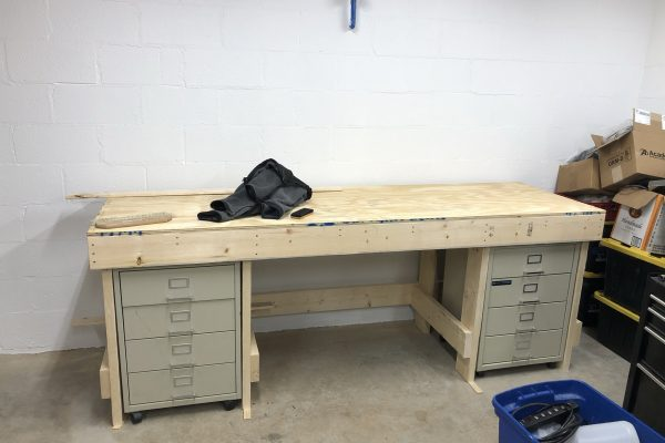 Neo7cnc - Shop benches installed