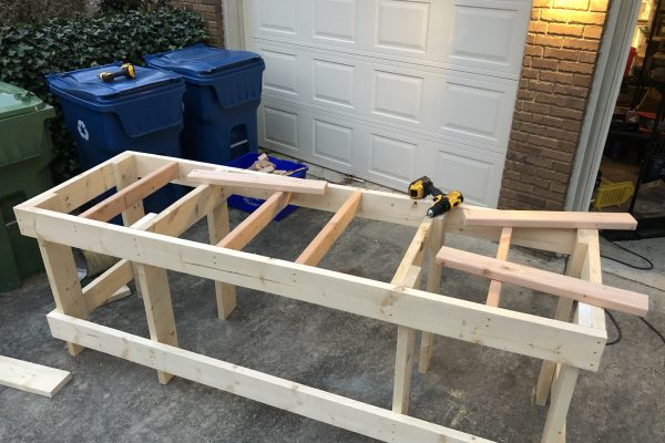 Neo7cnc - Shop benches framed