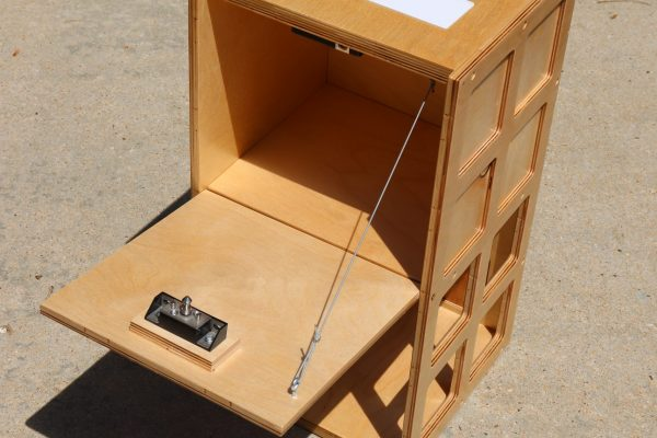 Neo7cnc - Secret RFID lamp door